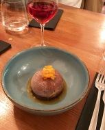 Dôme chocolat - coeur abricot